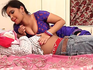 Watch amateur Anjali Aunty Romance With Husband On Bed (Part 1)